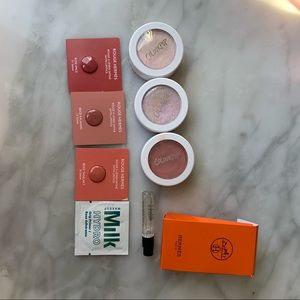 Colourpop highlights and blush with free samples